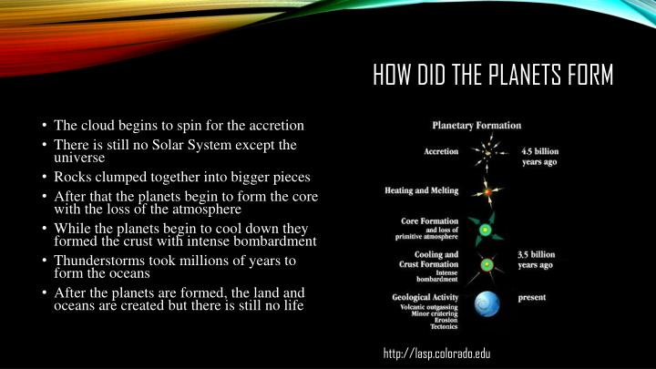 PPT - What are Terran Planets and how did they form? PowerPoint ...