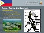 energy sector developments1