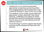 siu action research project
