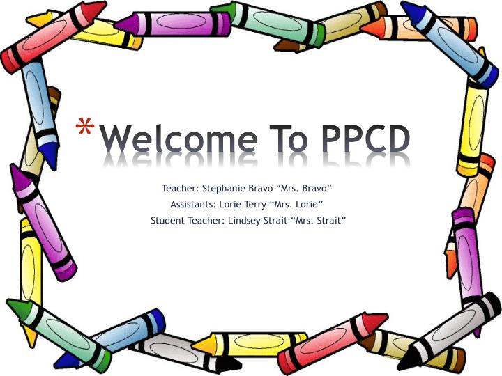 welcome to ppcd n.