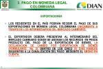 3 pago en moneda legal colombiana