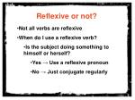reflexive or not