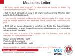 measures letter