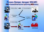 proses belajar dengan wilmo w eb based i nteractive l earning mo dules