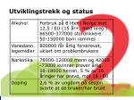 utviklingstrekk og status2