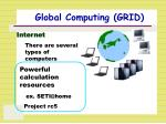 global computing grid