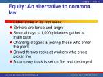 equity an alternative to common law1