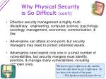 why physical security is so difficult con t1