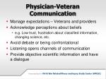 physician veteran communication2