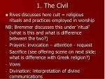 1 the civil