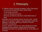 3 philosophy