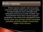 risiko reputasi