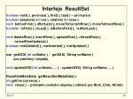 interfejs resultset