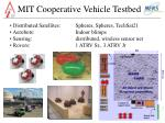 mit cooperative vehicle testbed3