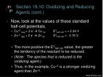 section 19 10 oxidizing and reducing agents cont1