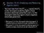 section 19 10 oxidizing and reducing agents cont4