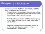examples and approaches1