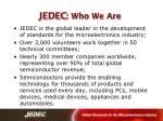jedec who we are