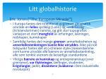 litt globalhistorie