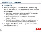 conductor nt features3