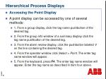 hierarchical process displays8