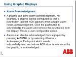 using graphic displays2