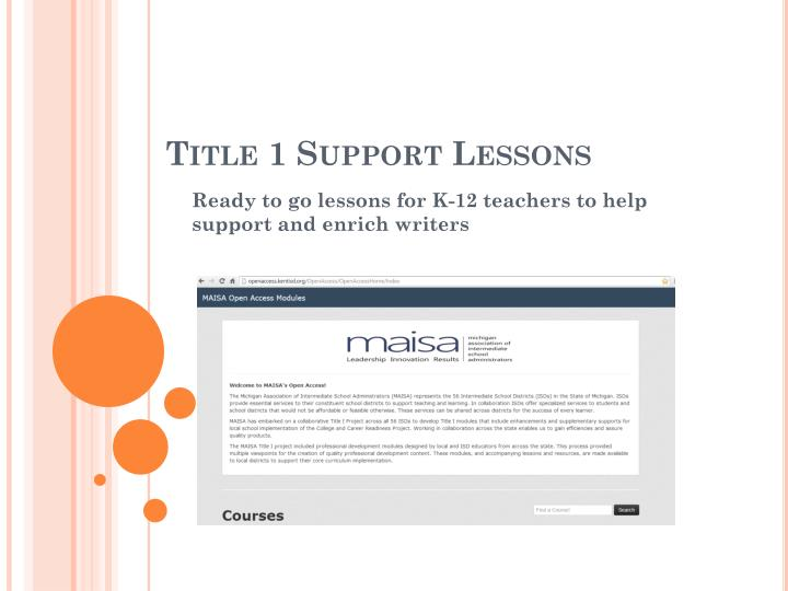 title 1 support lessons n.