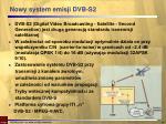 nowy system emisji dvb s2