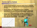 radio satelitarne
