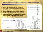 transmisja fal elektromagnetycznych przez atmosfer