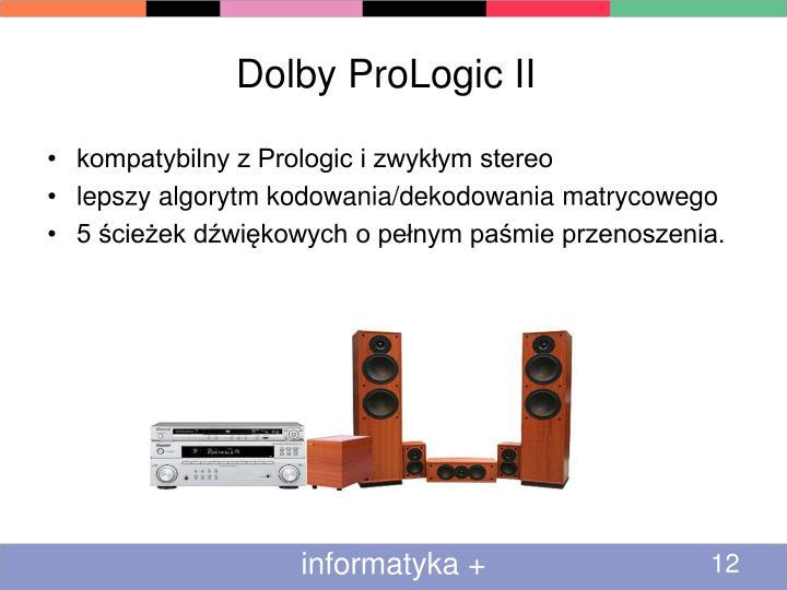 Dolby ProLogic II