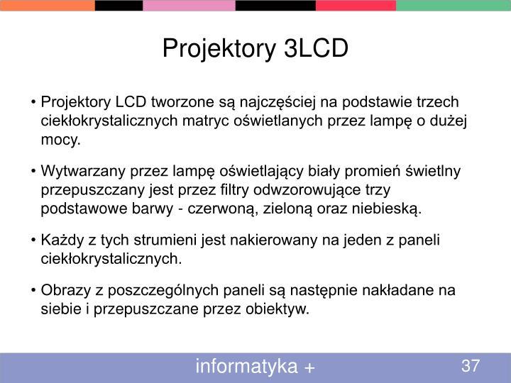 Projektory 3LCD