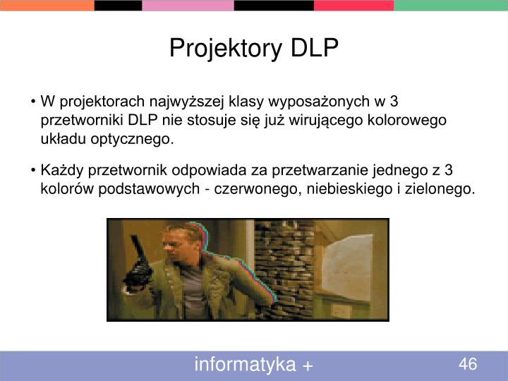 Projektory DLP