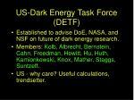 us dark energy task force detf