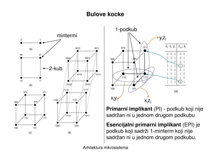 Bulove kocke