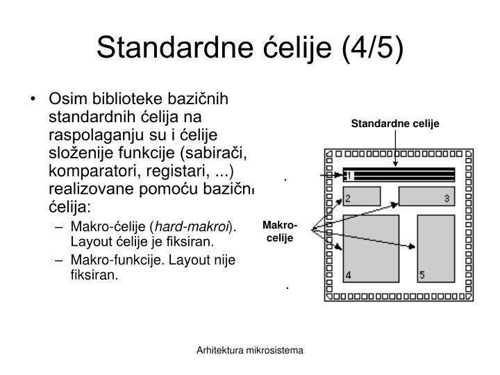 Standardne ćelije (4/5)