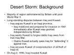 desert storm background