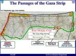 the passages of the gaza strip