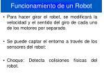funcionamiento de un robot1