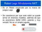 robot lego mindstorms nxt