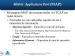mobile application part map