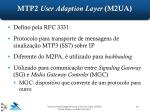 mtp2 user adaption layer m2ua