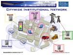 citywide institutional network