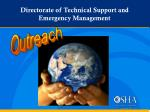 directorate of technical support and emergency management