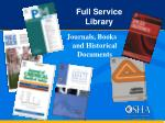 full service library