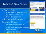 technical data center