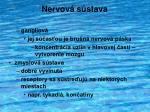 nervov s stava