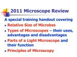 2011 microscope review