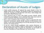 declaration of assets of judges4