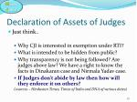 declaration of assets of judges5